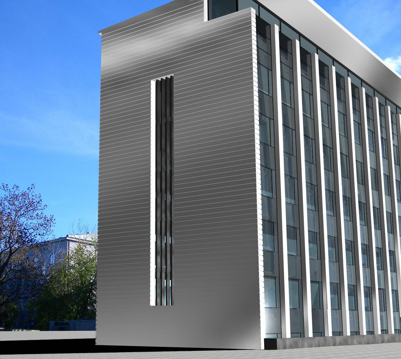 OFFICE BLOCK RECONSTRUCTION IN TALLINN