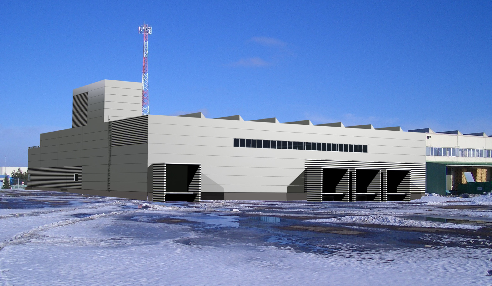 NEW EXTENSION OF AS PAULIG BALTIC FLAVORING FACTORY IN SAUE