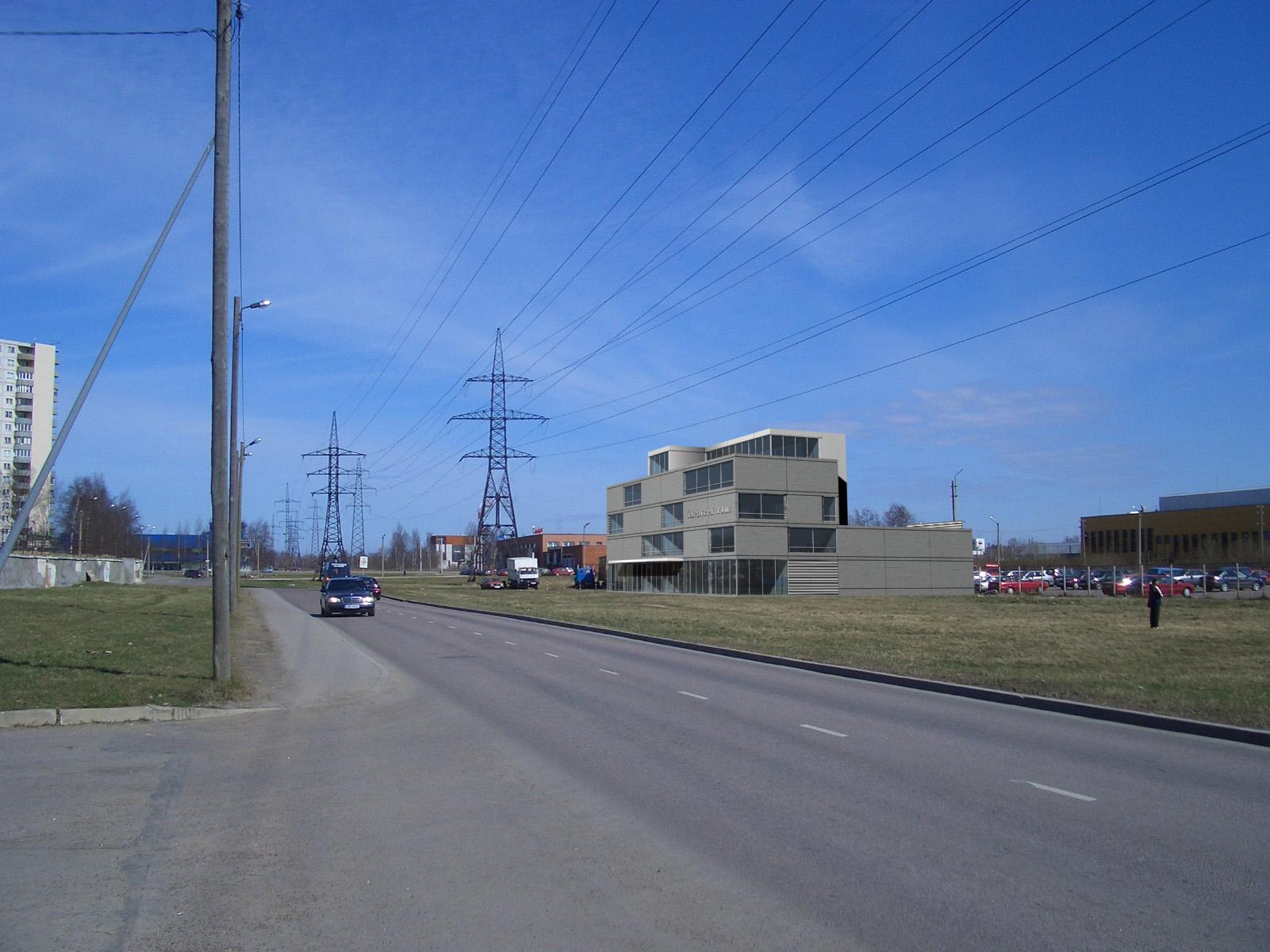 OFFICE AND WAREHOUSE ON JÄRVEOTSA ROAD